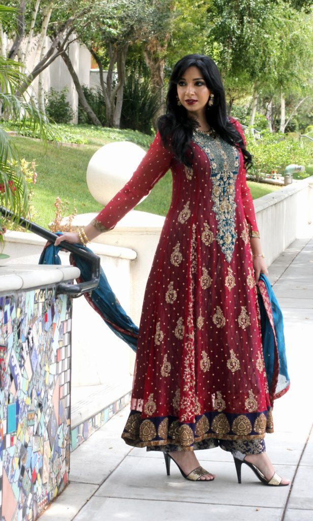 Pakistani Indian dress by Umsha