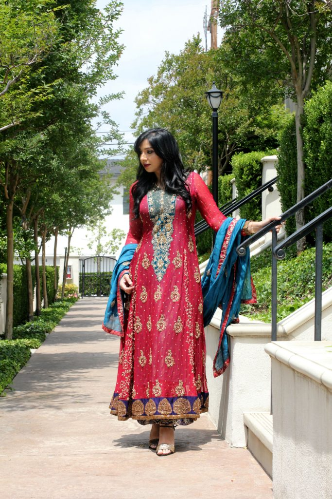 Pakistani dress by Yoomnas boutique