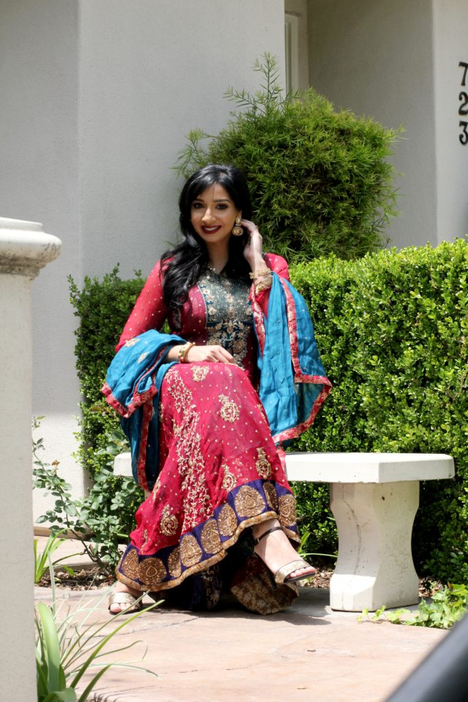 Pakistani indian dress by Yoomnas boutique