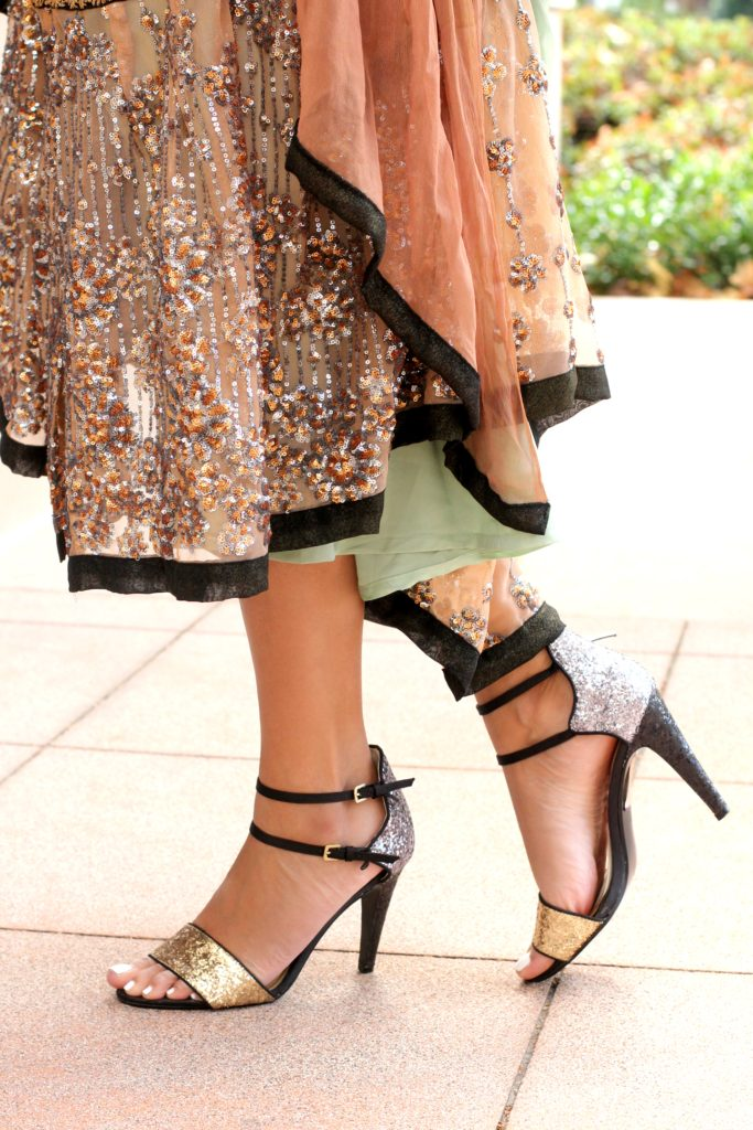 m glitter shoes