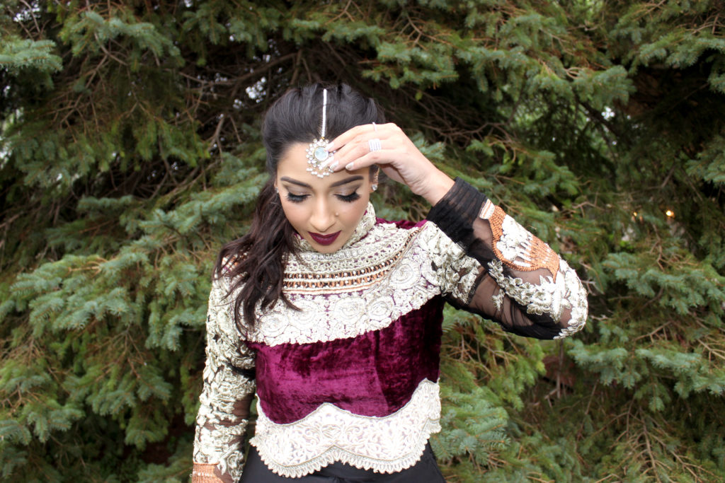 Velvet Choli