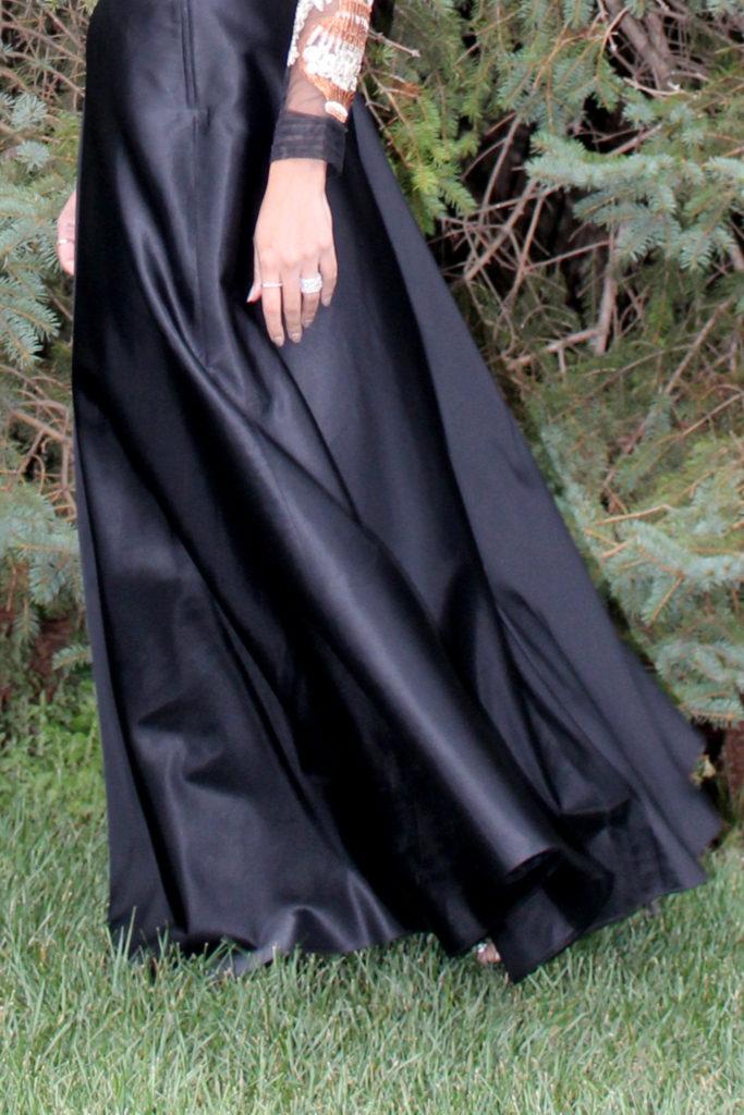 brosngirl styles black lehnga
