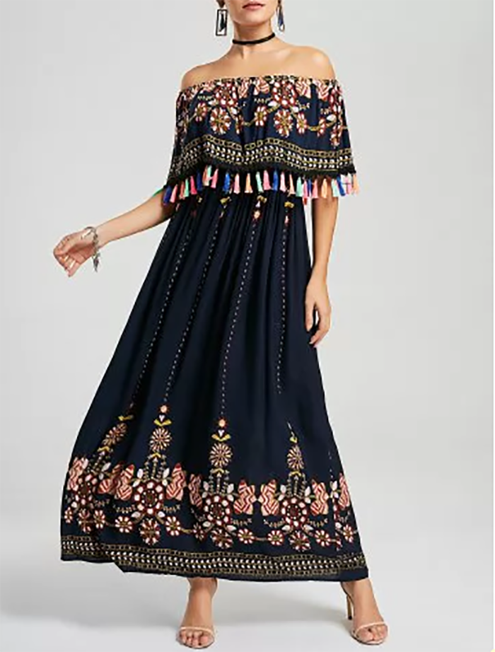 Rosegal Boho Dress