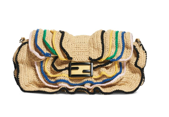 Fendi Beach Clutch