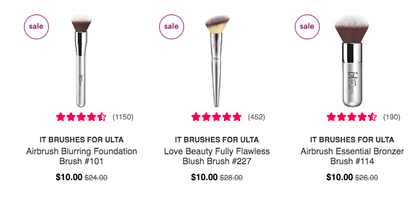 ulta black friday IT cosmetics