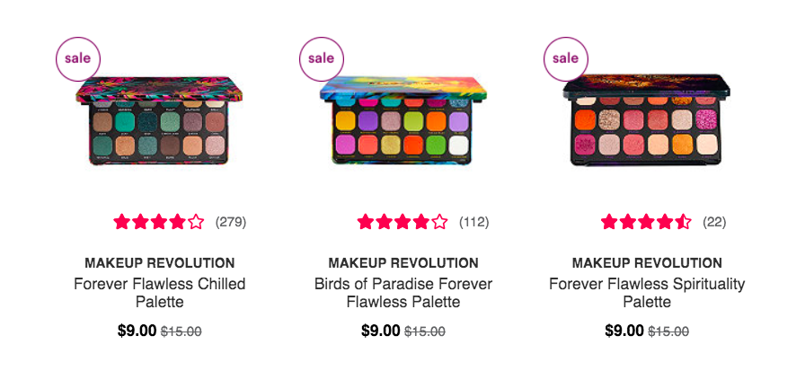 ulta black friday revolution pro palette