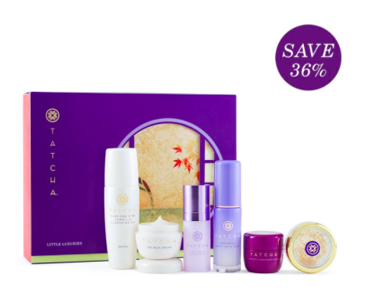 Tatcha holiday gift set browngirlstyles