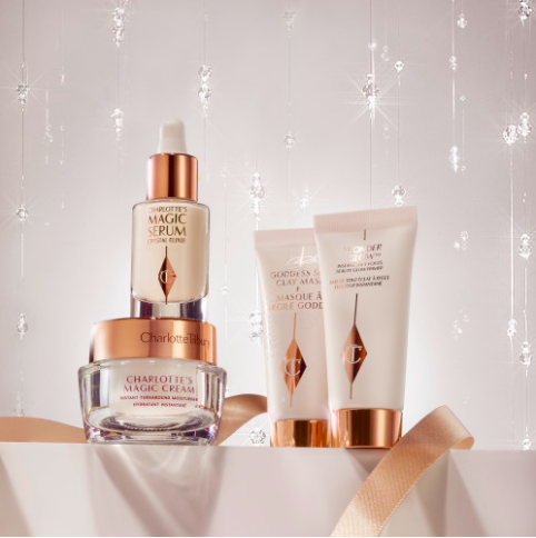 charlotte tilbury skincare set holiday 2020 browngirlstyles