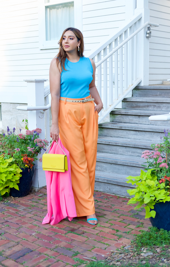 pastel color blocking for fall browngirlstyles styleblogger