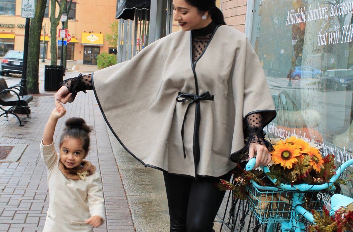CK belted Cape